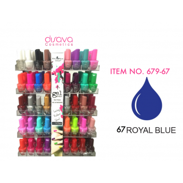ESMALTE DE GEL 679-67 ROYAL BLUE ITALIA