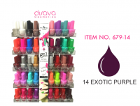 ESMALTE DE GEL 679-14 EXOTIC PURPLE ITALIA